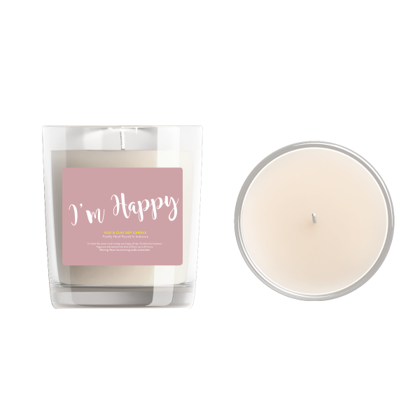 I'm Happy Klei Aromatic Candle