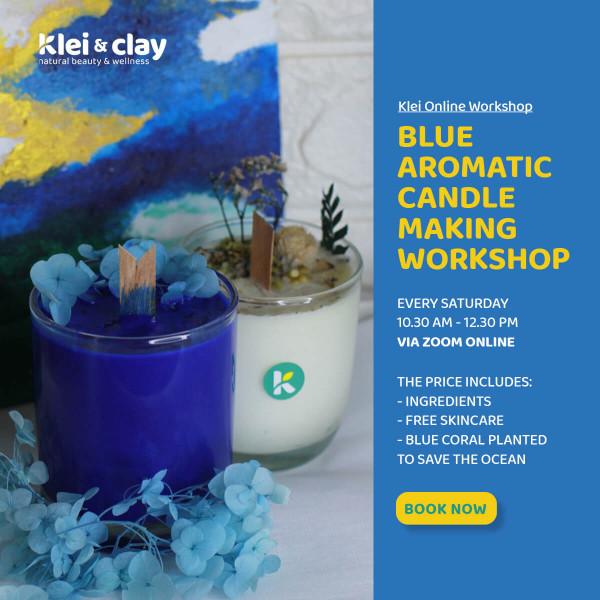 Botanical Candle Making Workshop (ONLINE)