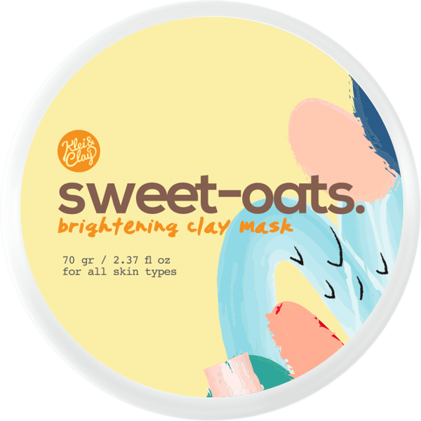 Sweet Oats Brightening Clay Mask 70gr